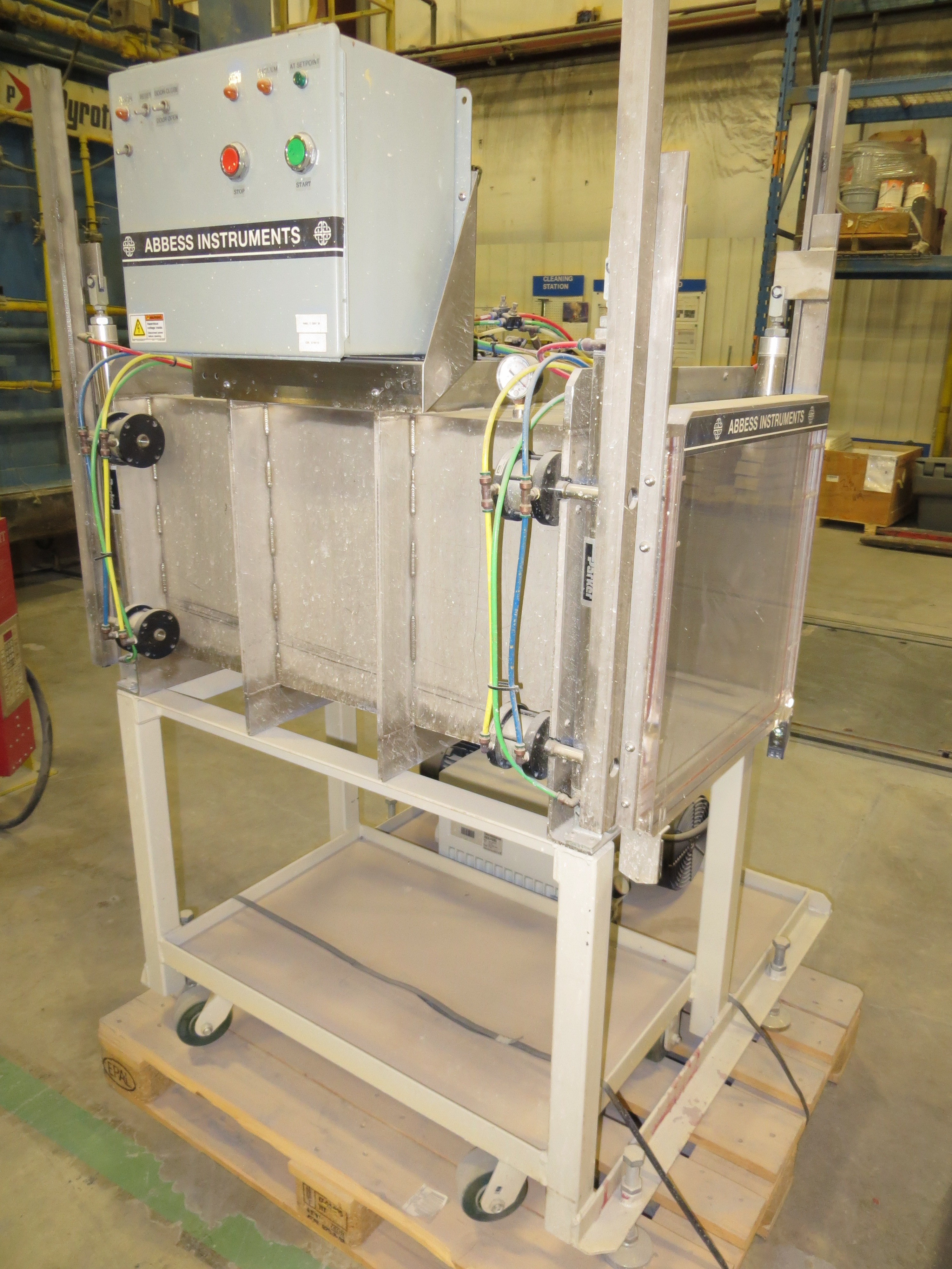 how to make a vacuum chamber pump